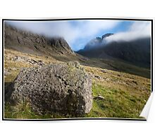 Misty mountain Poster
