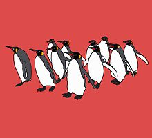 March of Penguins by m-lapino