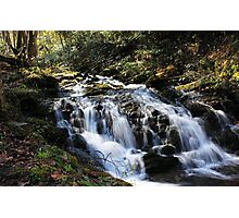 flowing down the mountain Photographic Print
