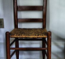 Rush Bottomed chair by suzannem73