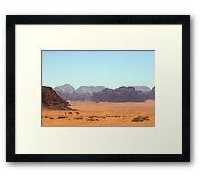 Ships of the Desert Framed Print