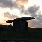 Poulnabrone Dolmen--The Burren,Co.Clare.[Please View Larger] by Pat Duggan