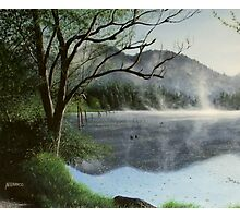 Clear Lake Morning Photographic Print
