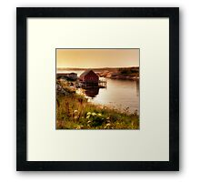 Peggy's Evening Framed Print