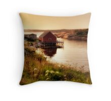 Peggy's Evening Throw Pillow