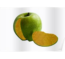 Comparing Apples and Oranges Poster