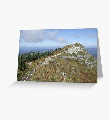 Silver Star Mountain Greeting Card