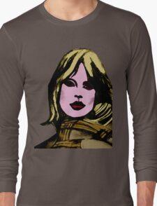 blonde girl Long Sleeve T-Shirt