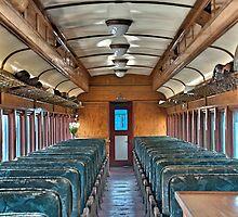 Old Santa Fe Passenger Car by KOKOPEDAL