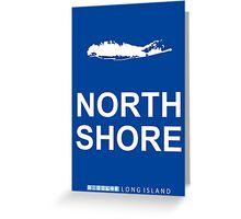 North Shore - Long Shore. Greeting Card