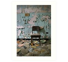 Peely Paint and Chair Art Print
