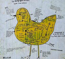 Baby Bird Pattern by Bonnie coad