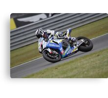 Randy De Puniet - World Superbikes Canvas Print