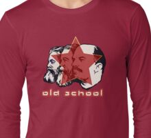 MARX ENGELS LENIN OLD SCHOOL  Long Sleeve T-Shirt