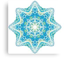 colorful mandala picture Canvas Print