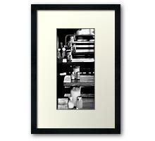 Salt-line Framed Print