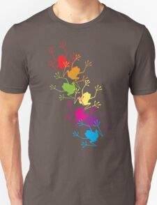 Rainbow Frogs Unisex T-Shirt