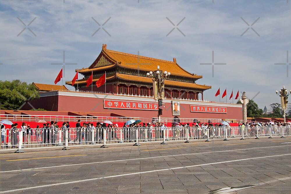 Tiananmen Gate by KLiu