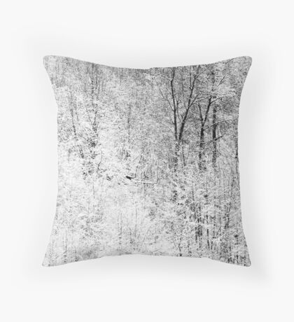 White Dreams Throw Pillow