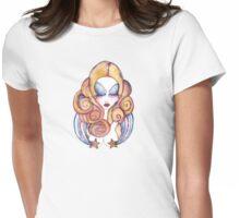 Rainbow Icecream Womens Fitted T-Shirt