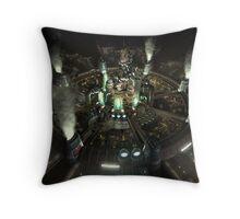 Final Fantasy VII - Central Throw Pillow