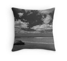 Steppie Beach 2, Aireys Inlet Throw Pillow