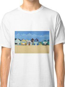 Hengistbury Beach Huts - c Classic T-Shirt