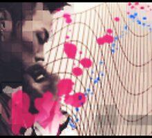 Wireframe and Splatter by Daniel Chessari