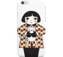 Kitty Cuddles iPhone Case/Skin