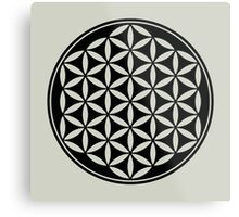 FLOWER OF LIFE - SACRED GEOMETRY - HARMONY & BALANCE Metal Print