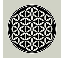 FLOWER OF LIFE - SACRED GEOMETRY - HARMONY & BALANCE Photographic Print