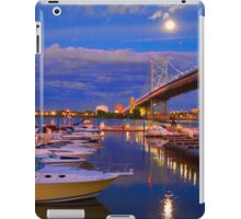 Moonrise over Camden, NJ iPad Case/Skin