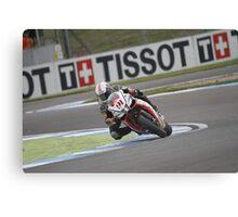 Haslam - World Superbikes Canvas Print
