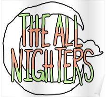 The All Nighters Official Primary Logo Poster