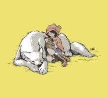 Petite Rouge en le Loup  Baby Tee