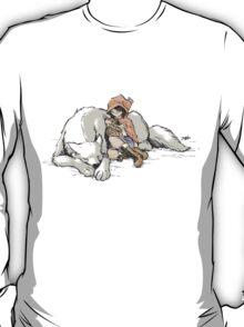 Petite Rouge en le Loup  T-Shirt