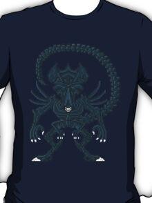 Xenomorph Queen - Aliens Pixel Art T-Shirt