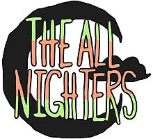 The All Nighters Official Secondary Logo Photographic Print