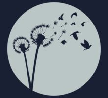 Dandelion Bird Flight by zomboy