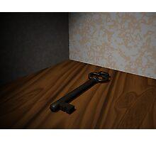3D Key Photographic Print
