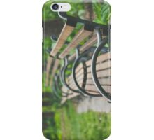 Garden Benches iPhone Case/Skin