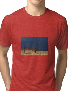 Bench by the Sea Tri-blend T-Shirt