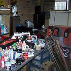 My studio by Roy B Wilkins