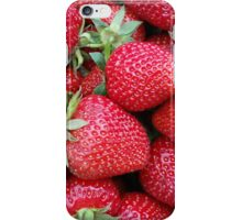 fresh strawberries 2 iPhone Case/Skin