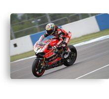 Davies - World Superbikes Canvas Print