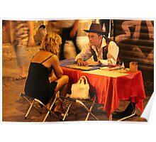 Tarot in Trastevere Poster