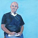 Portrait Scott Evans. by Virginia McGowan