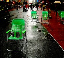 Green Seats by Eranthos Beretta