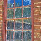 Cob-webbed Window, Monte Christo, Junee, NSW, Australia (HDR) by Adrian Paul