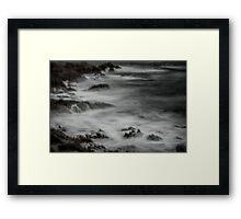 Eerie Seas Framed Print